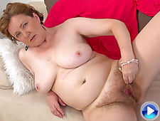 Romana Sweet enjoys pink lingerie and self play