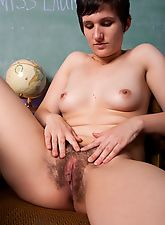 hairy armpits, Naughty Laurels bush is up for punishment