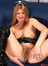 hairy girls, Introducing Hairy Twatters horny redheaded asylum babe Susi!